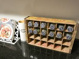 vintage diy spice rack the laur lore