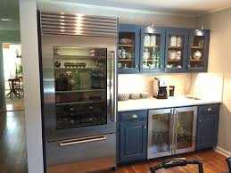 kitchen island glass front fridge ellajanegoeppinger com