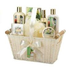 bath and gift baskets floral lotion soap bath set bathroom mothers day spa