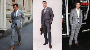 light gray suit brown shoes image result for grey suit camel shoes guy clothes pinterest