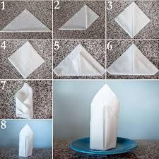 how to make fancy table napkins paper napkin folding instructions create festive tischedeko