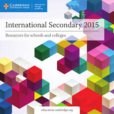 cambridge university press international secondary catalogue 2015