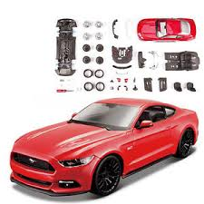 maisto ford mustang maisto 1 24 ford mustang gt diecast assembly line metal kit model