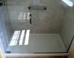 shower bathroom inspiration awesome solid surface shower base