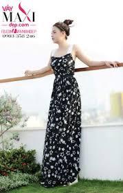dam maxi đầm maxi cổ yếm trắng cực xinh và sang mx243 váy maxi đẹp váy