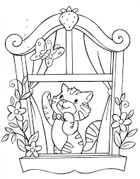 newborn kittens coloring pages youtuf com