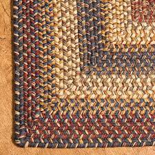 Braided Rug Rectangular Wool Braided Rugs In Cambridge Irvin U0027s Country Tinware