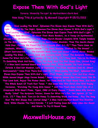 Lyrics To Blinded By The Light Manfred Mann Expose Them With God U0027s Light And Talk To The Aminals