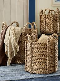baskets for home decor cadman basket these ralph lauren baskets are delicious love using