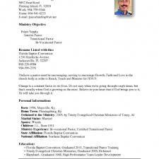 youth pastor resumes youth resume best template cover letter