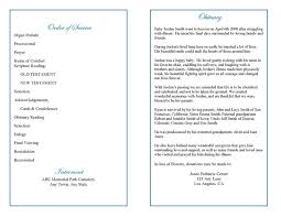 baby funeral program funeral program templates precious blue angel graduated fold