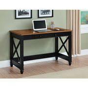 Registry Row Desk Sauder Registry Row Desk In Amber Pine 412267 Lowest Price