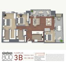Luxury Townhomes Floor Plans Nineteen800 Brand New Luxury Condos Floorplans