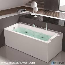 Wholesale Bathtubs Suppliers China Simple Modern Design Style Corner Whirlpool Jetted