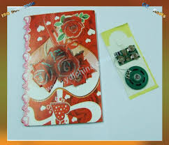 thank you card wholesale and cheap fiber optic greeting cards for