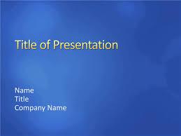 medium blue sample slides design template for powerpoint 2007 or