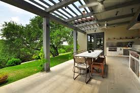 Patio Covering Designs by Covered Patio Roof Designs Patio Contemporary With Hill Country