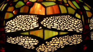 Tiffany Table Lamps Dragonfly Tiffany Table Lamp Youtube