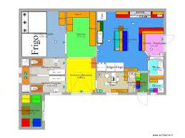 plan cuisine professionnelle plan 17 pièces 114 m2 dessiné par