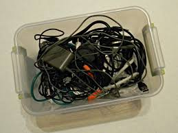 Inexpensive Storage Solution Organize Your Cords Organize And Decorate Everything