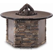 Fire Pit Logs by Peterson Outdoor Campfyre 52 Inch Propane Electronic On Off Remote