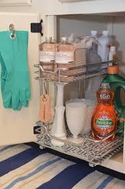 under kitchen sink storage ideas iron twine under sink storage