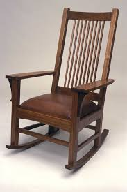 Free Plans For Outdoor Rocking Chair by Craftsman Style Rocking Chair Finewoodworking
