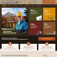 Contractors Website Templates Builders Websites Design Company - Home improvement design