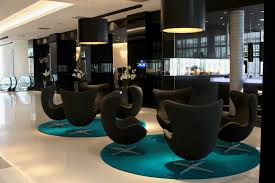 modern furniture modern hotel lobby furniture large brick throws