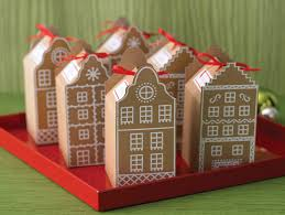 cookie box favors martha stewart crafts cookie favor boxes gingerbread