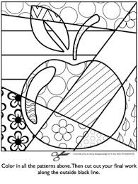 free art coloring pages free download crafts pinterest free pop art and apples