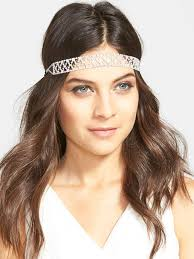 forehead headbands 3 ways to wear wedding headbands