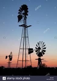 Tolar by Usa Texas Tolar Windmill Farm Wind Wheel Wind Turbine Silhouettes