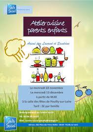 cours cuisine parent enfant atelier cuisine parents enfants centre social pouilly sur loire
