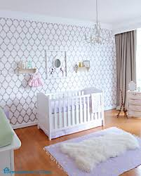 Room Theme Modern Purple Baby Rooms With Nursery Furniture And White And