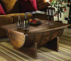 Wine Coffee Table Diy Wine Barrel Coffee Table Do It Yourself Ideas