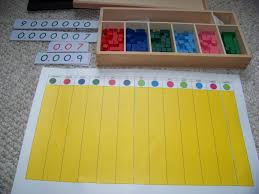 Decimal House George Family Montessori At Home Montessori Decimal Board And