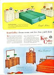 Bedroom Furniture Kent Kent Coffey Bedroom Furniture Ad 1952 Image1 Antique And