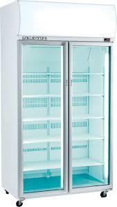 simple front glass door fridge also glass door fridge latest home