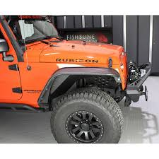 orange jeep cj fishbone offroad fb33007 wrangler jk inner fender aluminum front
