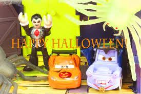 disney pixar cars celebrate halloween as halloween car mcqueen