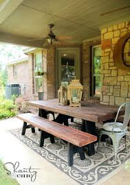 Rustic Dining Tables With Benches Dining Table Bench Plans U2013 Mitventures Co