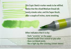 copic marker maintenance part 2 refilling and cleaning thinking