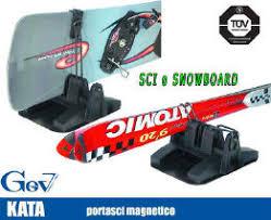 porta snowboard per auto porta sci magnetici usato vedi tutte i 110 prezzi