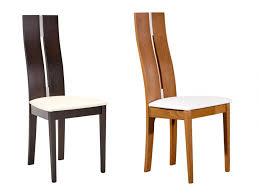 chaise wengé lot de 2 ou 6 chaises salena hêtre massif wengé ou chêne