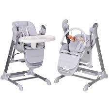 chaise bebe splity 3 en 1 trona y hamaca columpio automática remoto