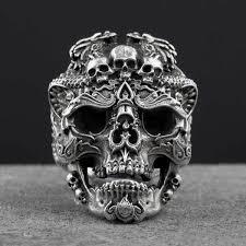 silver rings skull images 925 sterling silver badass skull ring limited edition hotdealsfirst jpg