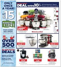 black friday kitchenaid mixer deals view kohl u0027s black friday ad for 2014 deals kick off at 6 p m on