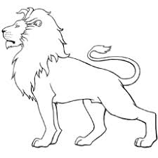 20 free printable lion coloring pages