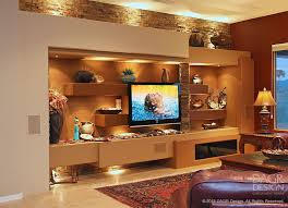 Floating Shelves Entertainment Center by Floating Shelves Custom Media Wall Design By Dagr Design